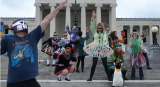 Irish dancers' renditions of the 'Harlem Shake'
