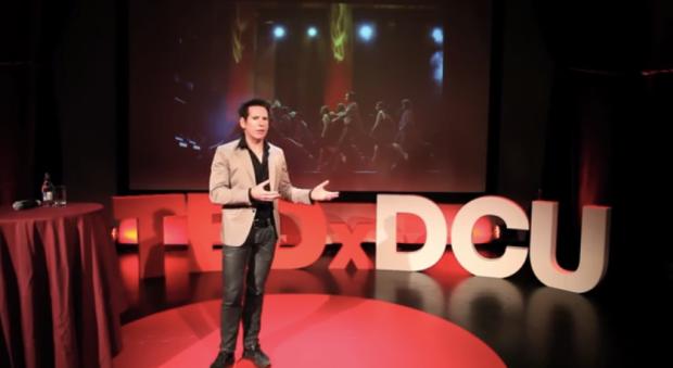 Breandán de Gallaí talks Irish dance at TEDxDCU